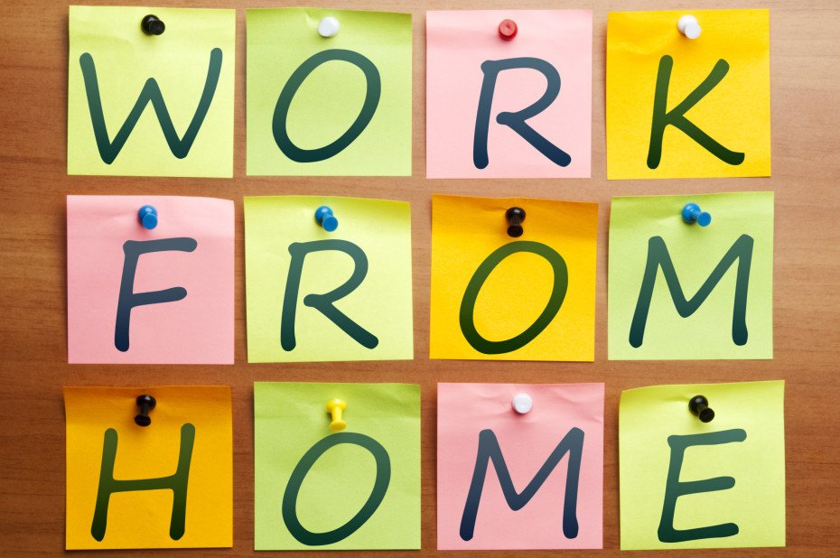Work from home ad