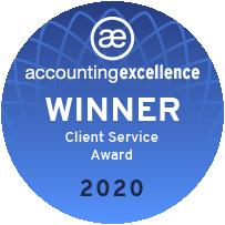 Client Service Award - Winner Badge Web Optimised