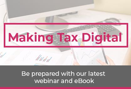 MTD; making tax digital