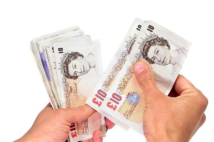 self-assessment tax return, cash in hand
