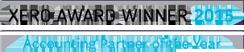 Xero award winner 2015 logo