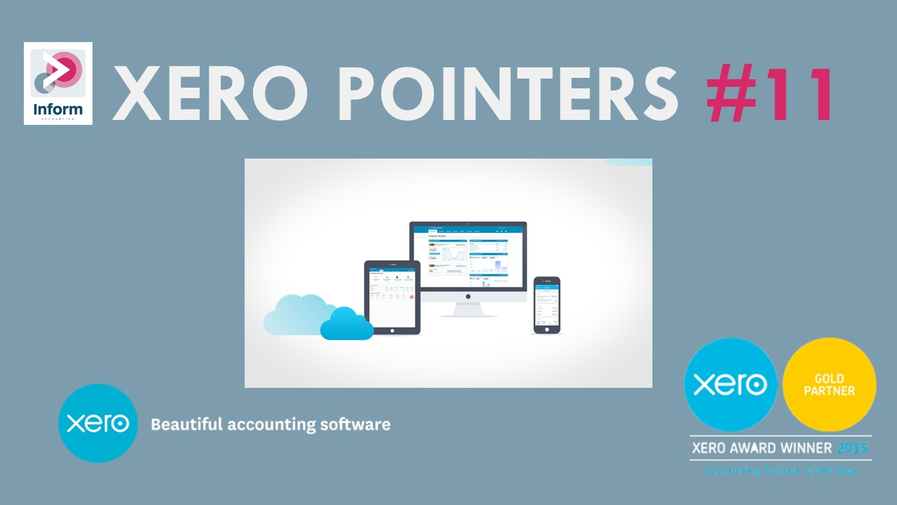 Xero Pointer #12- Storing files and documents in Xero